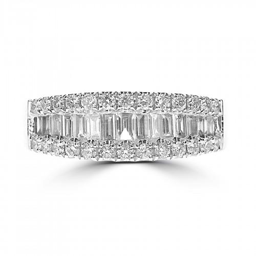 Octavia Half Eternity 1.00ct Graduated Ring
