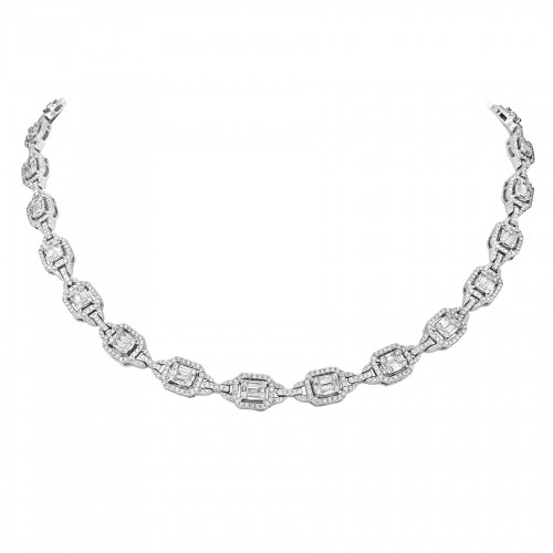 Octavia Looped Link Necklace