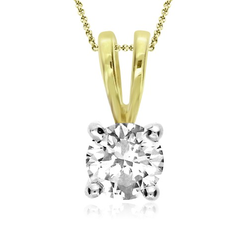Diamond Solitaire 0.30ct Pendant